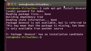 Solve ubuntu error - E: Package