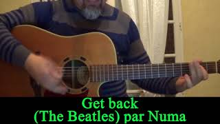 Get back (The Beatles ) acoustic guitar cover