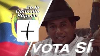#PactoÉticoYA #VotaSÍ en la Consulta Popular: Luis Simbaña - Confederación AMARU
