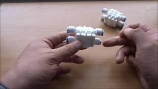 Четырехходовой клапан для систем обратного осмоса