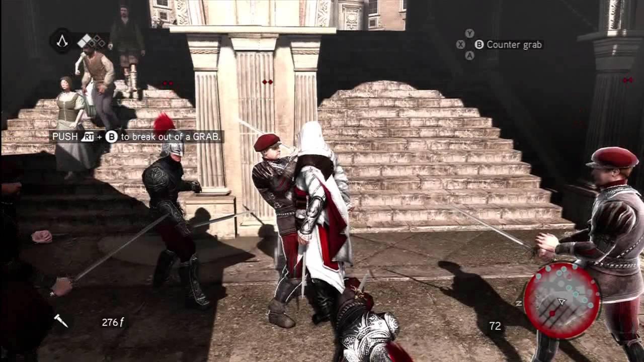 Assassin S Creed Brotherhood Gameplay Youtube