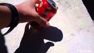 Cocacola limenka trick
