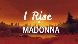 Madonna-I Rise(lyrics)