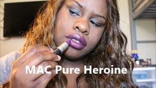 New MAC Lorde collection + Pure Heroine vs Heroine Swatches Thumbnail