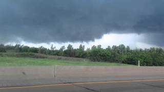 05-06-2015 tornado near Chickasha Oklahoma on i44