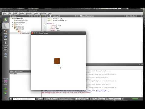 Qt QML - 148 Multiple Animations