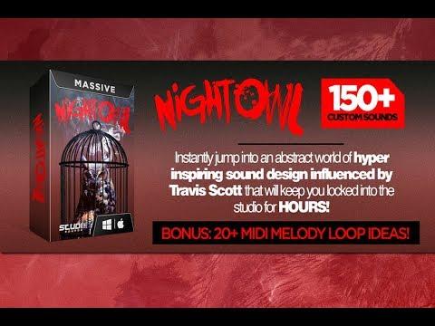 Night Owl - Travis Scott Inspired Massive Preset Bank
