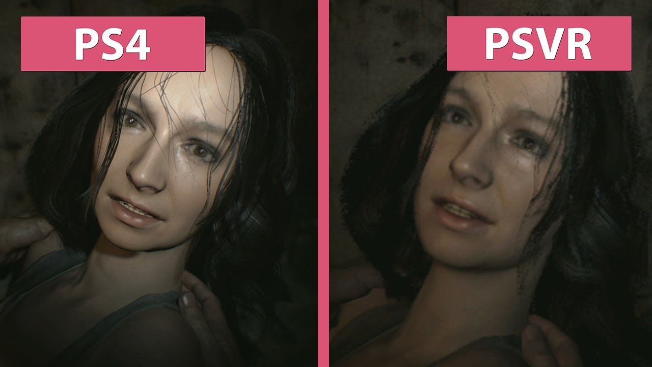 PSVR | Resident Evil 7 – PS4 vs  PSVR on PS4 Experimental Graphics  Comparison