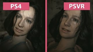 PSVR | Resident Evil 7 – PS4 vs. PSVR on PS4 Experimental Graphics Comparison