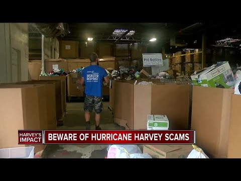 Don't Waste Your Money: Beware of Hurricane Harvey scams