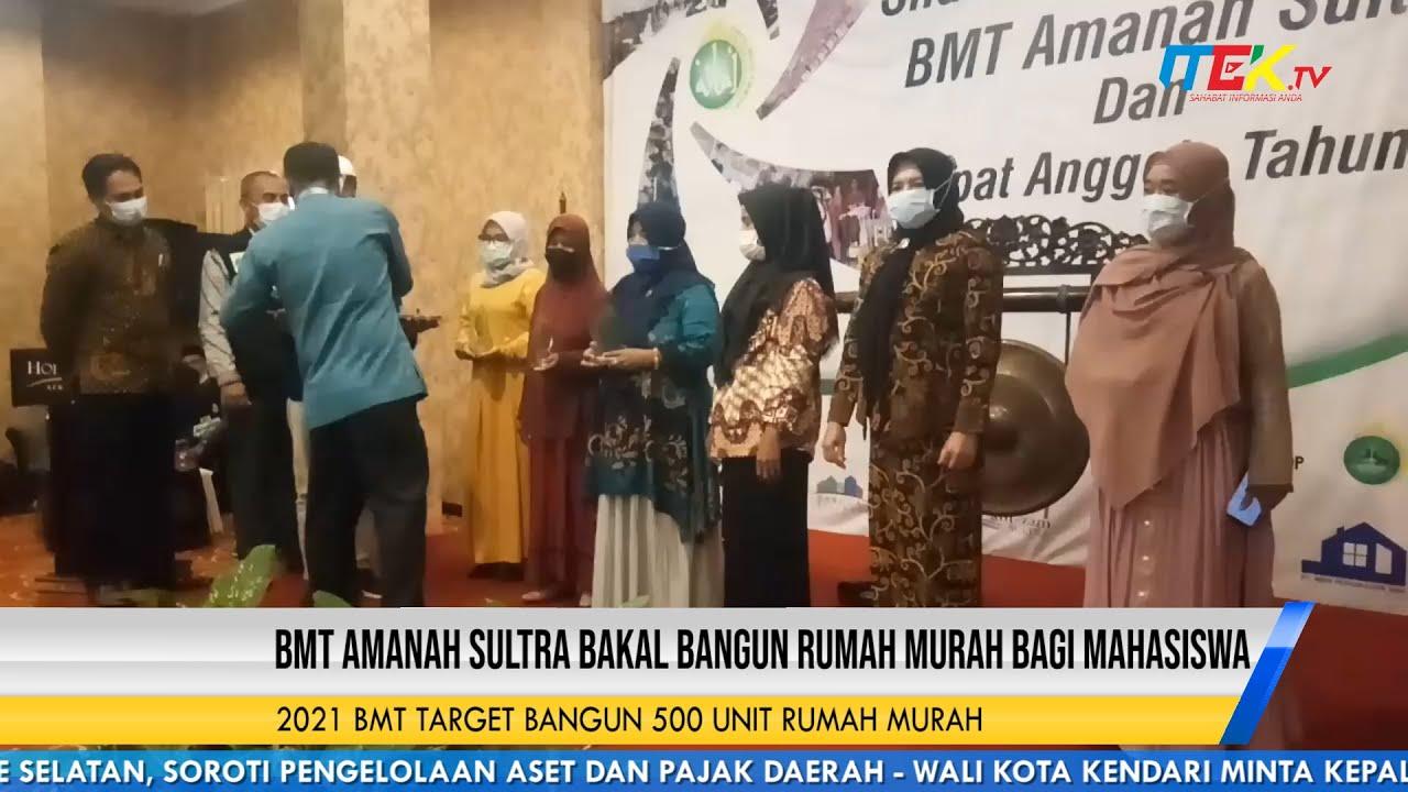 BMT Amanah Sultra Bakal Bangun Rumah Murah Bagi Mahasiswa