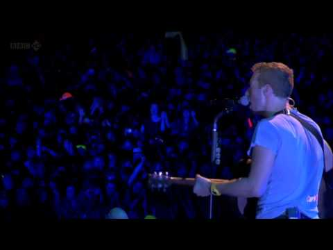 Coldplay  Shiver  @ T in the Park 2011