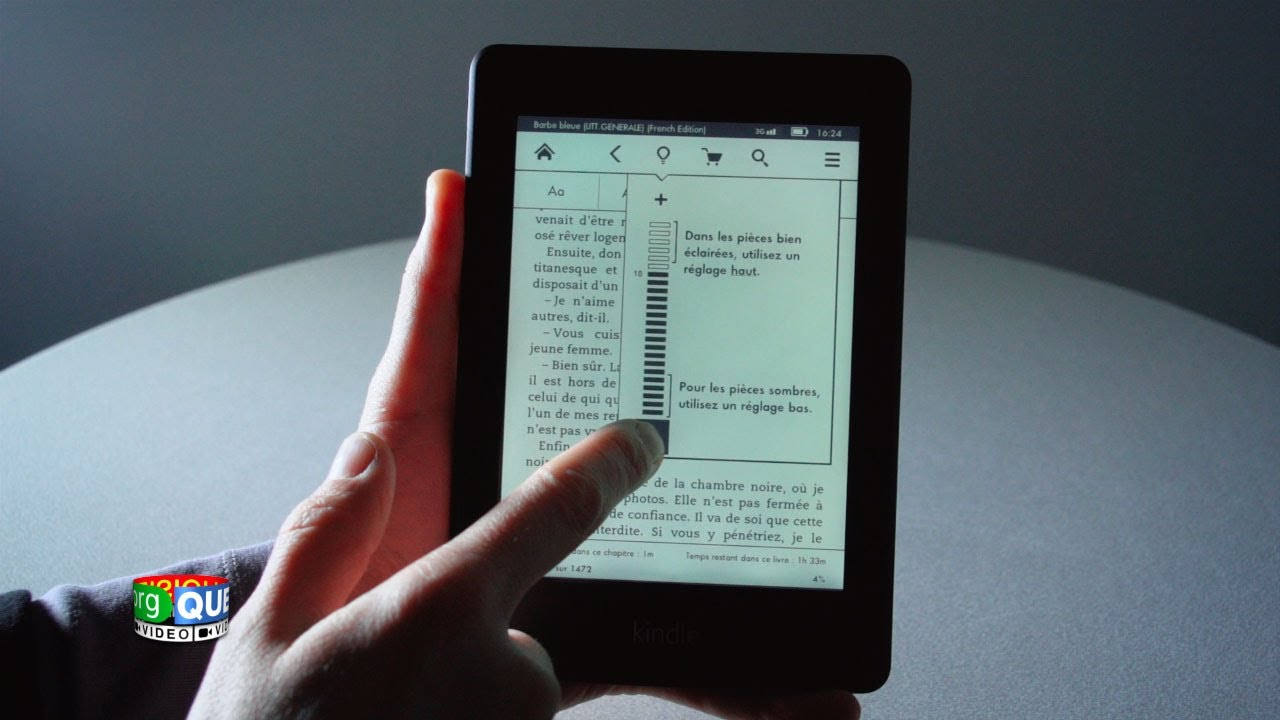 Kindle Paperwhite Prise En Main