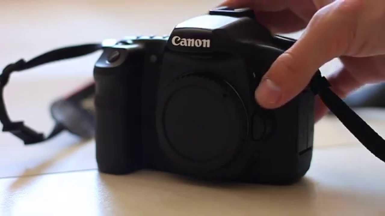 Canon EOS 40D flash problem