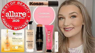 Hey guys! today i'm testing out and giving my thoughts on the drugstore high end makeup awarded in allure best of beauty 2020 article. are these beau...