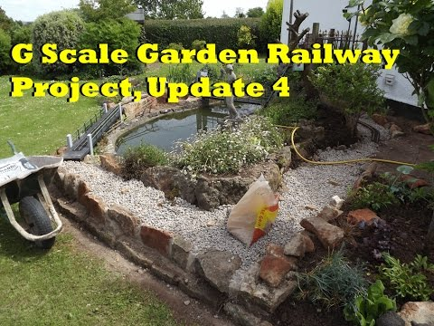 G Scale Garden Railway Project, Update 4