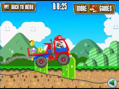 Super Mario Truck - Flash Game