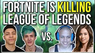 How Fortnite is Killing League of Legends