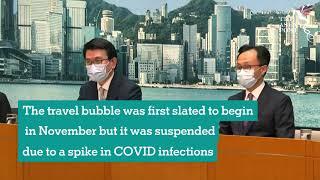 Hong Kong announces travel bubble with Singapore