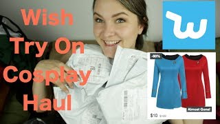 Wish - Try On - Cheap Cosplay Haul