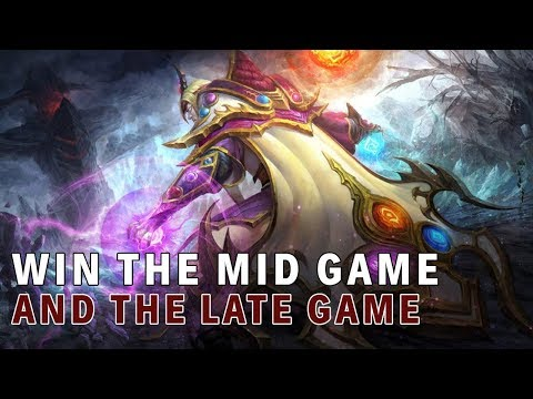 Things I've Learned With EG.Sumail's Invoker | Dominate The Mid Game
