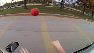 Ball Thrown From Car - Frames of Reference