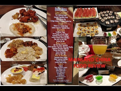 #Mainlandchina Best Chinese Buffet at Mainland China, SouthCity| Kolkata | Food Review
