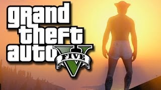 GTA 5 Online - Ragdoll Glitch and Get Your Dick Wet!  (GTA 5 Funny Moments!)  KYR SP33DY