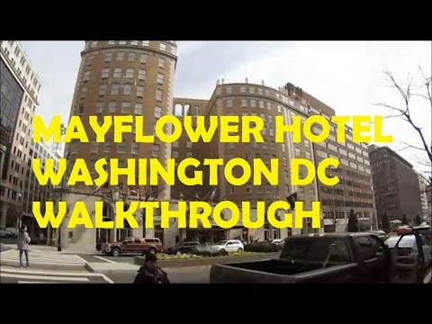 Mayflower Hotel Washington DC Walkthrough with Osom Gimbal and GoPro