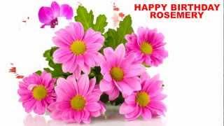 Rosemery - flowers - Happy Birthday