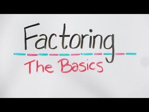 Whiteboard Math: The Basics of Factoring