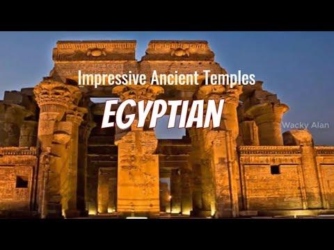 Top 10 Impressive Ancient Egyptian Temples | Wacky Alan