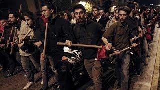 Ελλάδα: Επεισόδια στα Εξάρχεια μετά την πορεία για το Πολυτεχνείο