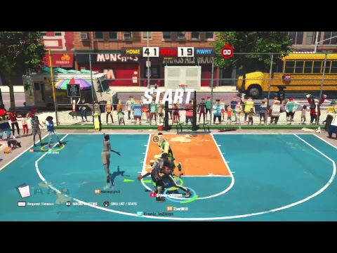 3on3 Freestyle - TV don't want assists?