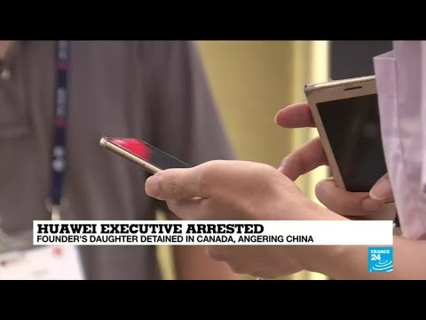 Chinese Markets Tank After Canada Arrests Chief Financial Officer Of Huawei