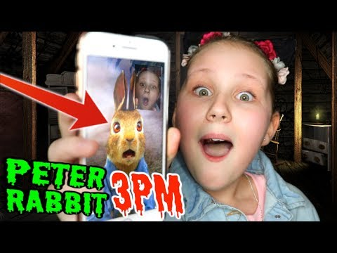 CALLING PETER RABBIT ON FACETIME AT 3PM!! *OMG EASTER BUNNY ANSWERED*