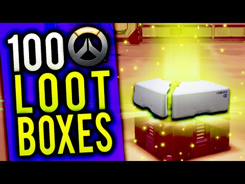 DOUBLE BACK TO BACK LEGENDARIES - OVERWATCH 100 LOOT BOX OPE