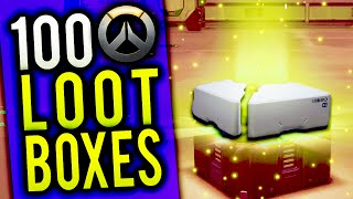 DOUBLE BACK TO BACK LEGENDARIES - OVERWATCH 100 LOOT BOX OPENING