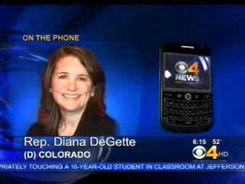 U.S. Rep. Diana DeGette Interviewed on CBS 4 Denver about Egg Recall