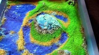 видео Интерактивная песочница для атракционов