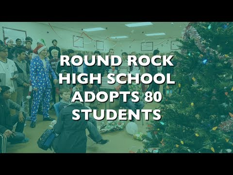 Round Rock High School Adopt a Child