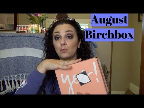 Birchbox-August 2018-Kittens!!!!
