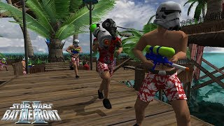Star Wars Battlefront 2 | Beach Troopers | First Day of Summer!
