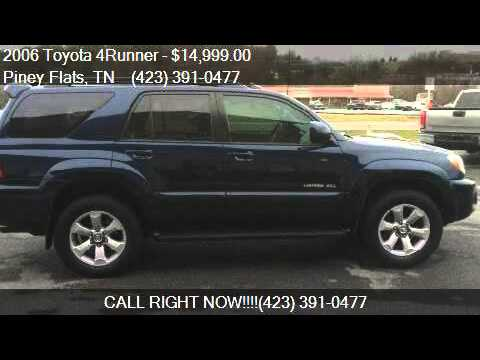 2006 Toyota 4runner Limited 4dr Suv 4wd W V8 For Sale In Pin Youtube