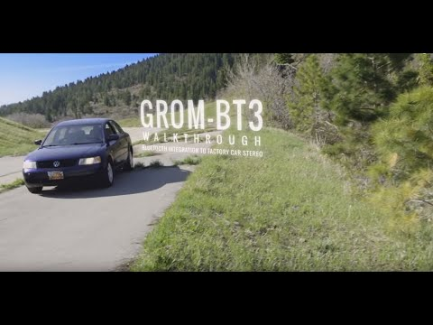 GROM Bluetooth Car Kits - Hands Free Phone Calls, GPS and Wireless Music Streaming (A2DP)