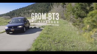 grom bluetooth car kits hands free phone calls gps and wireless music streaming a2dp