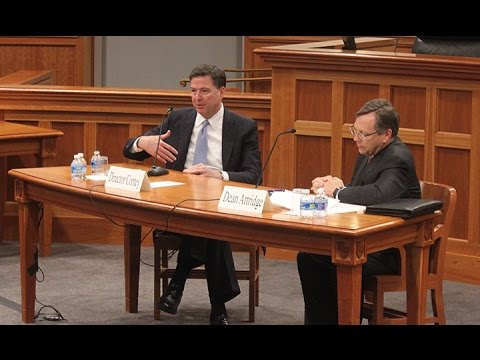 Brendan Brown Lecture Series: A Conversation with FBI Director James B. Comey, Jr.