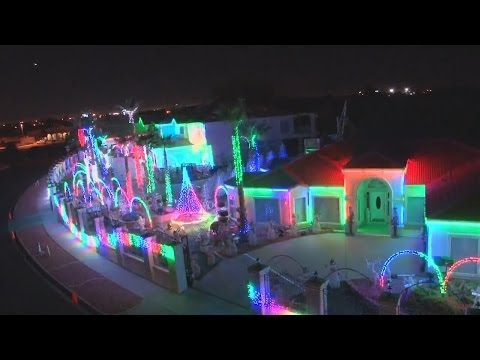 Mark Manuel - Christmas Light Display In Davenport Canceled