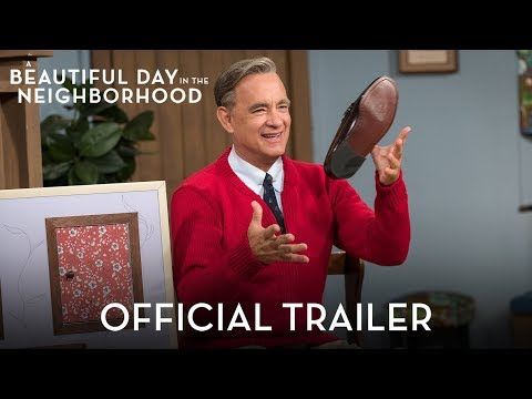 Greg Kretschmar - Tom Hanks as Mr Rogers - Looks Amazing....