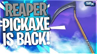 REAPER PICKAXE GEKOCHT + HIGH KILL GAMES/ Fortnite Battle Royale